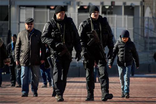 Nga tập chung bảo vệ Olympic mùa đông