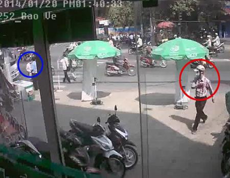 Bảo vệ sập bẫy lừa của 2 tên trộm xe SH