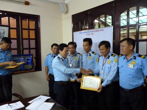 Khen thưởng công ty bảo vệ