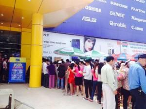 Cung cấp dịch vụ bảo vệ cho siêu thị HC Thái Nguyên