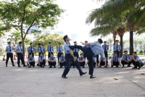 Hoạt động đào tạo và cung cấp nhân sự cho dịch vụ bảo vệ